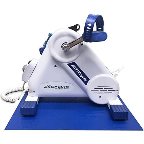 Exerpeutic Motorized Leg and Arm Pedal Exerciser Mini...