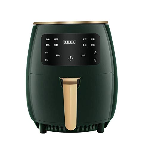 friggitrice ad aria verde Raypow Friggitrice ad aria senza olio Verde · Touch screen multifunzione · 4.5L 1400W · Basso contenuto di grassi e più salutare · Protezione contro il surriscaldamento