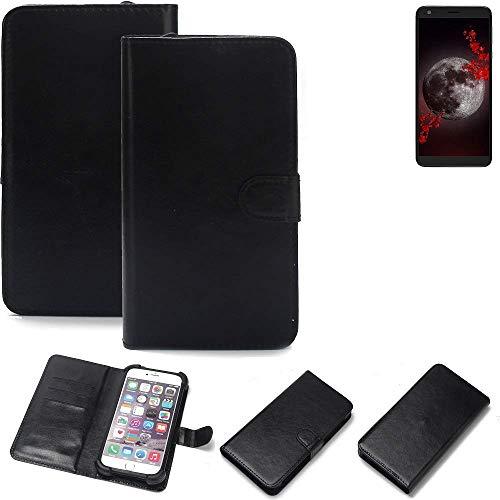 K-S-Trade® Handy Schutz Hülle Für Sharp Aquos B10 Schutzhülle Bumper Schwarz 1x