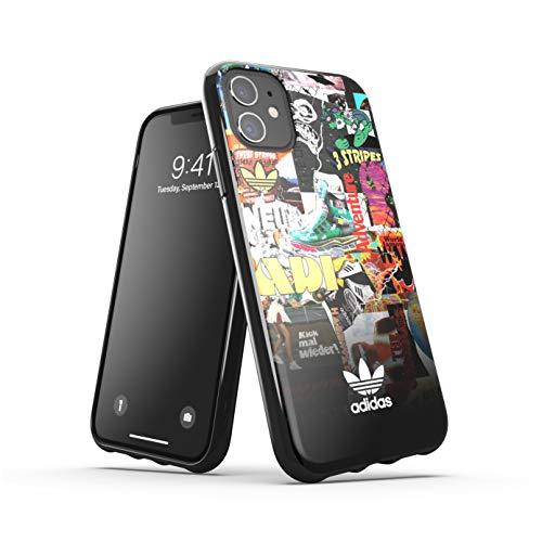 adidas Funda diseñada para iPhone 11, Carcasa Probada contra caídas, Bordes elevados, Carcasa Original Moldeada, gráficos Coloridos.