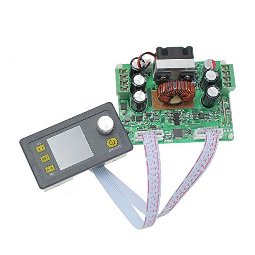 ZGQA-GQA Converter module Buck Adjustable DC Constant Voltage Power Supply Module Integrated Voltmeter Ammeter With Color Display DPS3012 32V 12A DIY power compatible