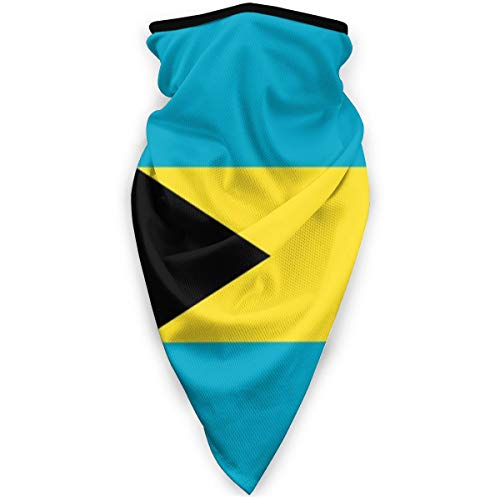 Bahamas Flag Headband Face Mask Bandana Head Wrap Scarf Neck Warmer Headwear Balaclava For Sports