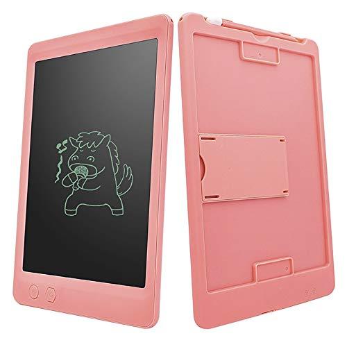 Teyun Borrado parcialmente Tablero de Dibujo Plancha para niños Tablero de Graffiti LCD Tableta Portátil Portátil Dibujo Dibujo Tableta Educativa (Color : 10 Inch Pink)