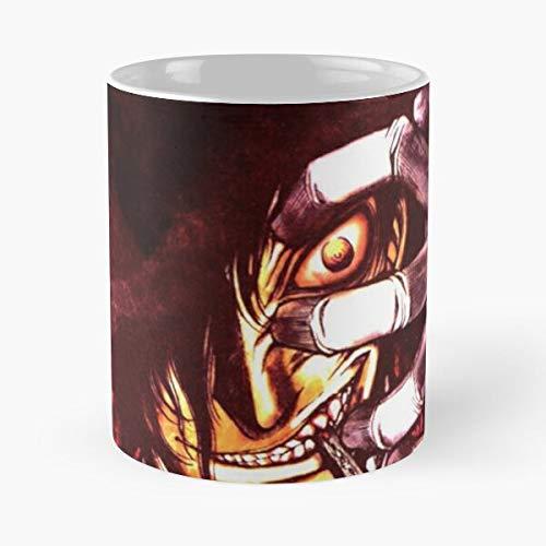 Desconocido Seras Manga Ultimate Victoria Anime Walter Dracula Hellsing Alucard Taza de café con Leche 11 oz