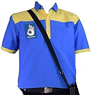 Uniforms House Petrol Pump Shirt DSM(Salesman) Bharat Petroleum