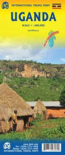 Touristik Karte Uganda 1:600 000: Touristik Map