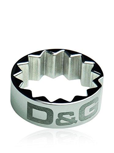 Dolce & Gabbana D&G Anillo DJ0766 Plateado 22