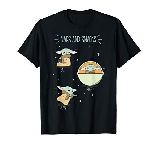 Star Wars The Mandalorian The Child Naps & Snacks T-Shirt