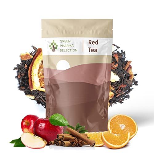 Té rojo Pu Erh con Manaza Canela y Naranja orgánico a granel. 100gr 50 tazas. Te puro de hojas sueltas. Efecto depurativo y digestivo. Este té crea una industria justa y sostenible para agricultores