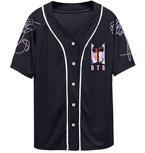 Kpop Bts Album Speak Yourself T-shirt Suga V Jimin Rap Shirt Jesery Merchandise