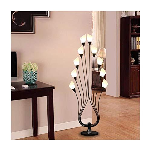 Yxx Max staande lamp van acryl lampenkap, eenvoudige salontafel, vloerlamp, eenvoudig en elegant, woonkamer, slaapkamer, staande lamp, decoratief licht