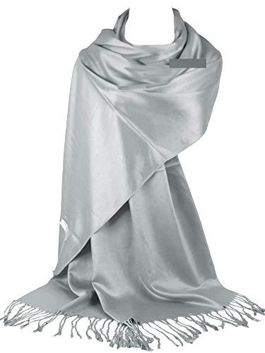 GFM®-Marke Pashmina Style Schal mit sehr glatter Oberfläche (L9-160-43-Ch)
