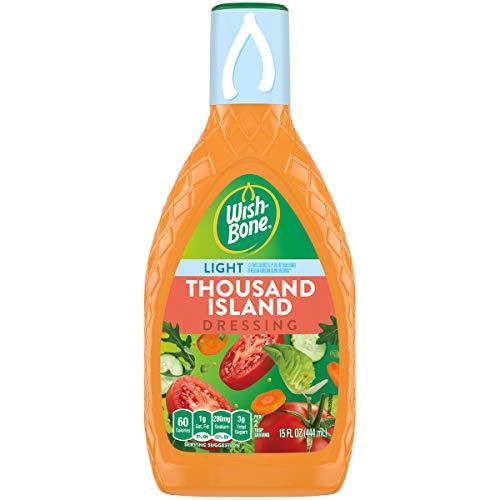 Wish-Bone Salad Dressing, Light Thousand Island, 15 oz