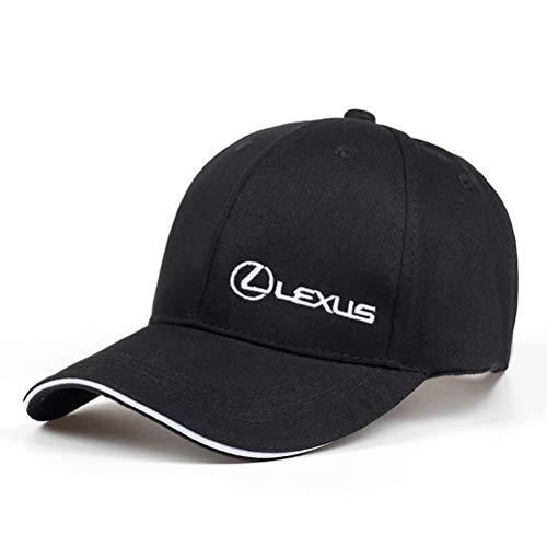 EASTVAPS - Gorra de béisbol de verano de algodón, color blanco de la serie Lexus Classic