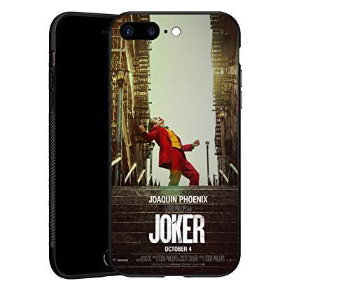 Joker - Cover per iPhone 7 Plus/8 Plus, in TPU, ultra sottile, colore: Nero