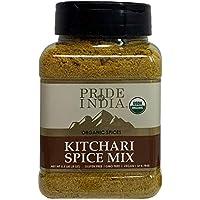 El orgullo de la India - India condimento kitchari - 8 oz (227gm) condimento especia india kitchari - pilaf de arroz con lentejas Realización y sabor perfecto - Mezclado con 7 especias únicas veganos