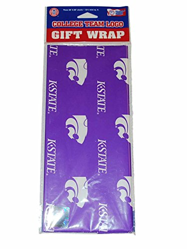 NCAA Kansas State Wildcats Wrapping Paper