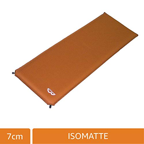 MONTIS ISOCORE 7, Isomatte selbstaufblasend, 7cm, 2350g