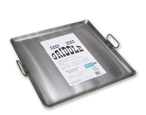 Chef King Steel Griddle