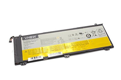 vhbw Li-Polymer Akku 6100mAh (7.4V) passend für Laptop Notebook Lenovo IdeaPad U330 Touch, U330p, U330t