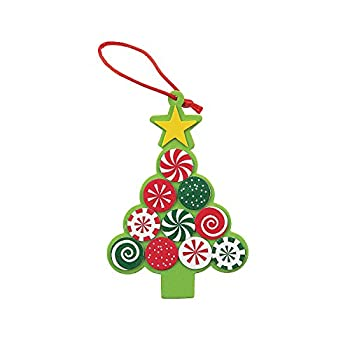 Candy Tree Foam Ornament Craft Kit -12 - Crafts for Kids and Fun Home Activities