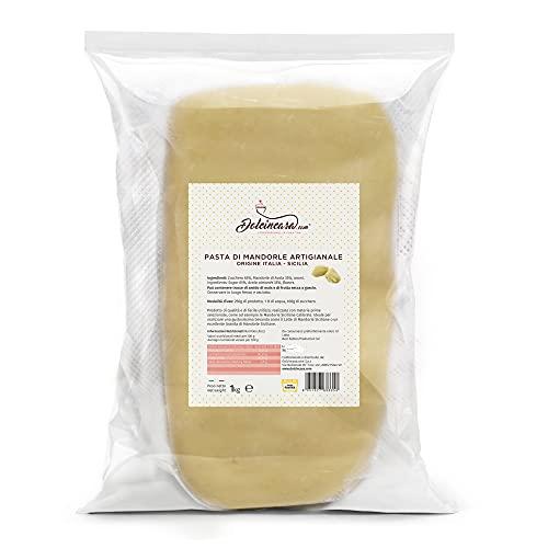 Pasta di Mandorle Artigianale Alta Pasticceria con Mandorle Calibrate Sicilia 1 kg
