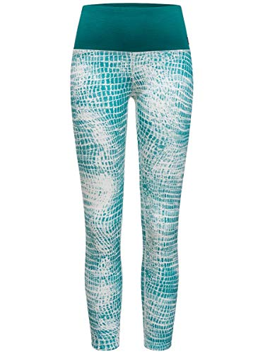 Supernatural Super Tight Printed Collant Femme, Spruce Shibori/Shaded Spruce, FR : M (Taille Fabricant : M)