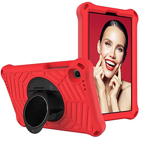 Funda para tablet Samsung Galaxy Tab A7 Lite 8.7' (2021) SM-T220/SM-T225 Tablet Case Kids a prueba de golpes, con soporte giratorio ligero y duradero, correa para el hombro
