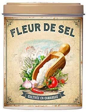 Esprit Provence - Fleur de Sel fior di Sale di Provenza in Lattina di metallo 60g