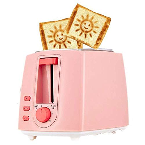 TWDYC Toaster 2 Slice Toaster, Home 2 Slice Toaster Wide Slot, Compact Toaster with