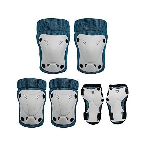 LUFKLAHN Schutzausrüstung Satz, Nylonmaterial, Kinder Laufrads Roller Schutzhelm Reiten (Color : C)