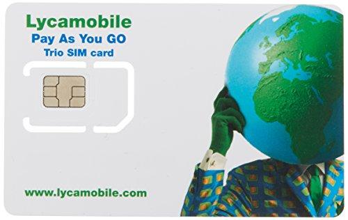 Prepaid Sim Karte (Telefonie und 1000MB Highspeed Daten) für die USA, inkl. Telefonie nach Deutschland