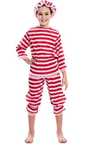 EUROCARNAVALES Disfraz de Bañista Antigua para niña 5 a 6