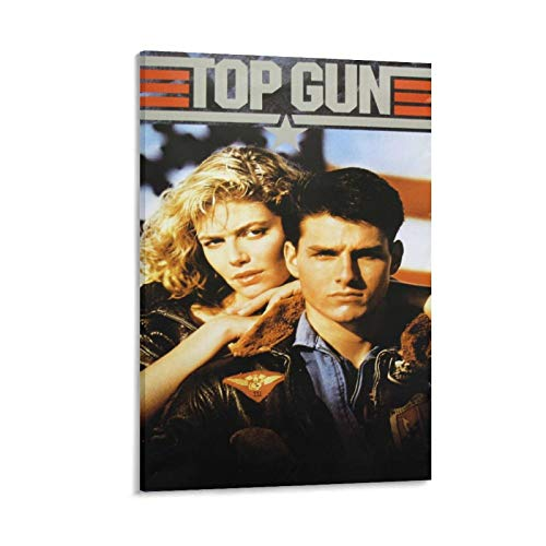 HUANGXING Original Top Gun Movie Art Poster Canvas Painting Decor Wall Print Photo Gifts Home Modern Decorative Posters Framed/Unframed 16×24inch(40×60cm)