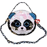 TY Unisex Kinder Panda Umhängetasche, Mehrfarbig, One Size
