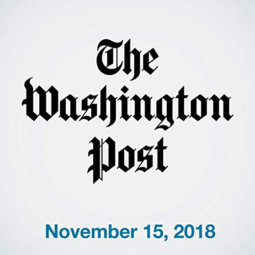 November 15, 2018 copertina