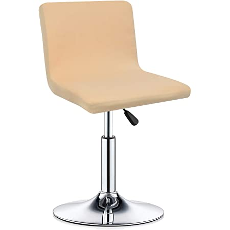 Round Chair Cover Bar Stool Cover Elastic Seat Cover Home Chair Slipcover JI
