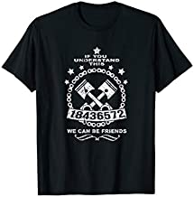 18436572 Awesome V8 Firing Order design for Car Enthusiasts T-Shirt