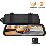 HD Wireless Car Backup Camera and Monitor,...