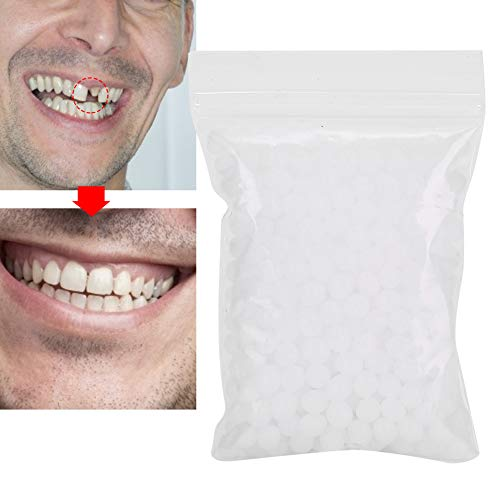 Temporary Tooth Repair Beads For Missing Tooth Filling Material With Broken Teeth, Multifunction Temporary Tooth Repair Set Plastic Ther(10g)