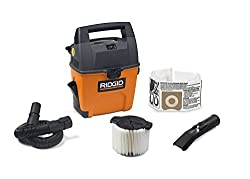 RIDGID Wet Dry Vacuums for Car, Garage or Home