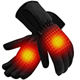 QILOVE Heated Gloves with Rechargeable Battery,Outdoor...