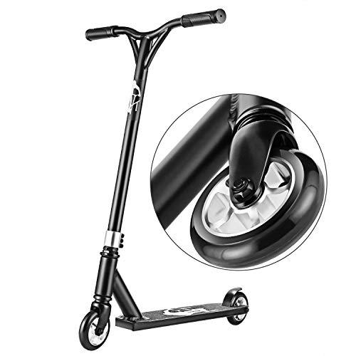 Hikole Stunt Scooter Roller für Kinder & Erwachsene Tretroller mit eine Lenkstange aus Stahl, ABEC-7 Kugellagern,...