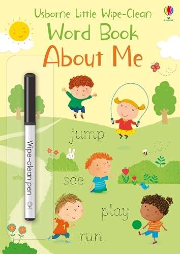 Brooks, F: About Me (Little Wipe-Clean Word Books)