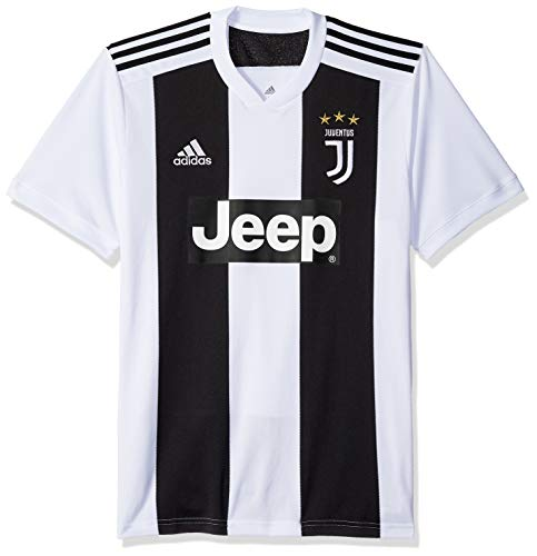 adidas World Cup Soccer Juventus Soccer Juventus FC Home Jersey, Small, Black
