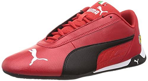 PUMA Unisex 33993703 Ferrari Sf R-Cat Sportschuhe, Rosso Corsa Black, 45 EU