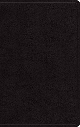 ESV Large Print Personal Size Bible (Black)