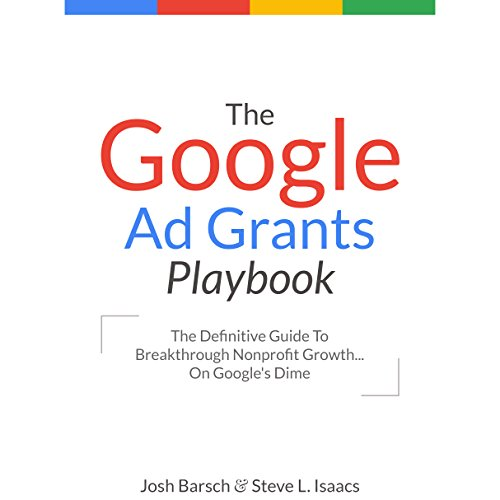 The Google Ad Grants Playbook audiobook cover art