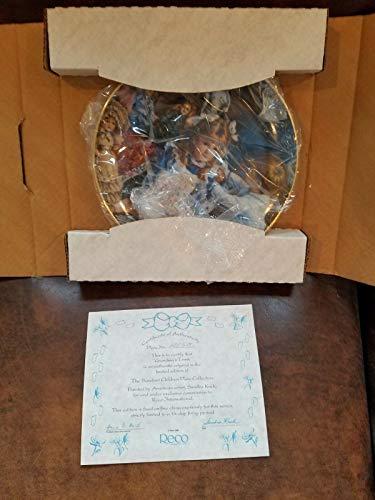 Sandra Kuck Plates Grandma Trunk from Barefoot Children Collectors Plates