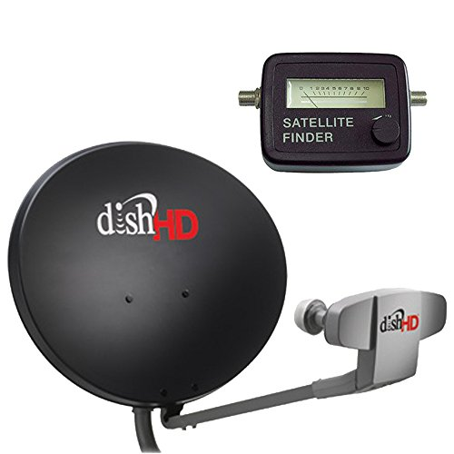 Review Of Dish Network 1000.2 & Satellite Finder Compass - 110, 119, 129 Satellites High Definition ...